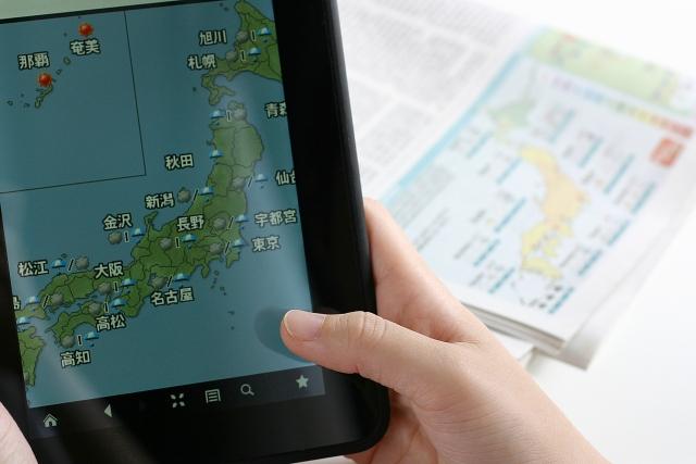 キャンプ前に台風の予報が出た時どうする?ブログを参考に!