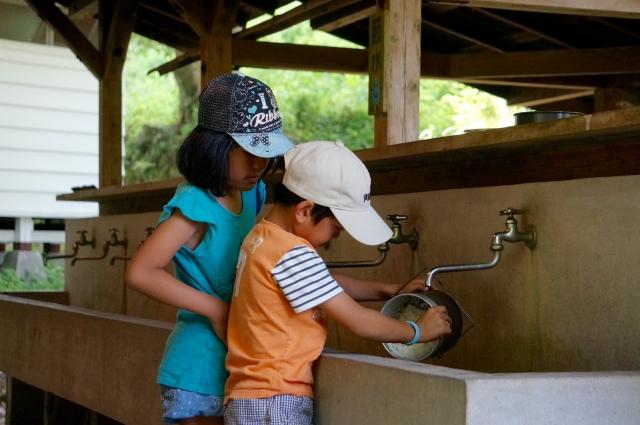 キャンプで使う洗剤は環境にやさしいフロッシュがおすすめ