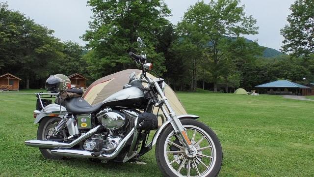 ツーリングでキャンプ場へ!バイク乗り入れOK!【関西編】