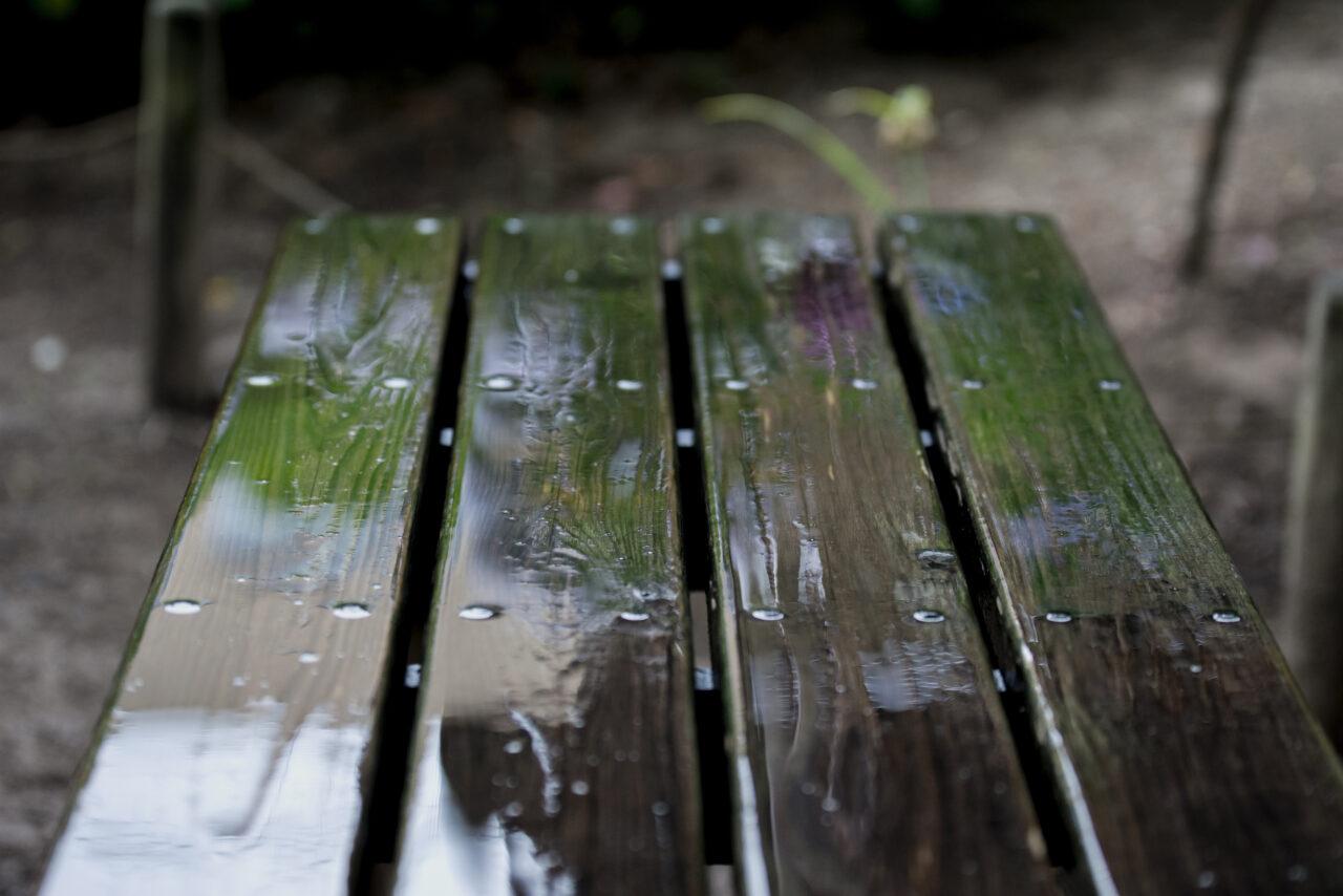 雨の日に大活躍!コロンビアのポンチョのたたみ方