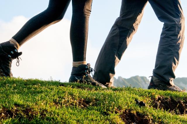 登山靴のスカルパ!キネシスにアイゼンは取り付け出来る?