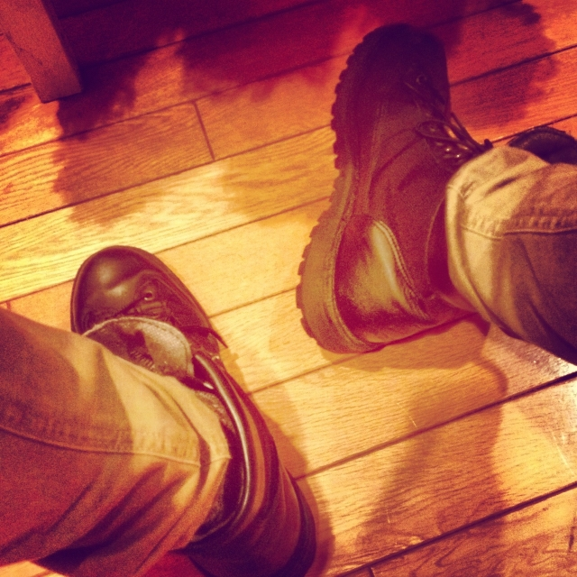 ダナーに代表されるハイクブーツの靴紐の結び方・履き方とは