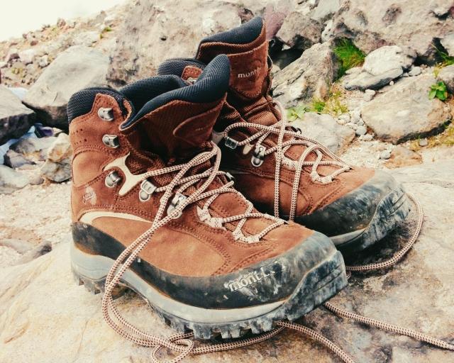 モンベルの「登山靴」修理やメンテナンスは万全にしよう!