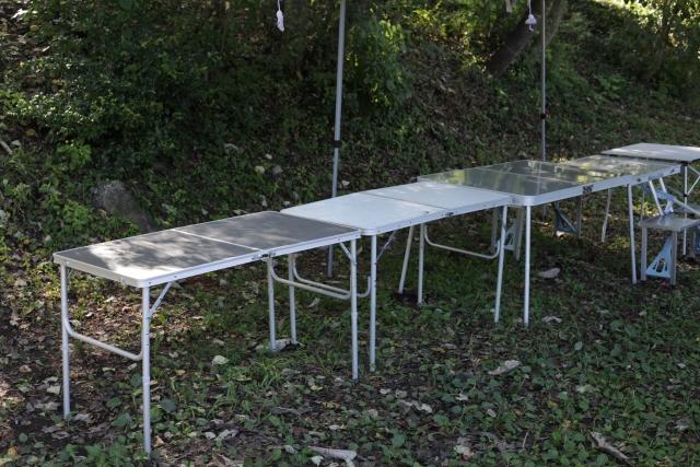 ユニフレームの焚き火テーブルはキャンプブログで大好評!