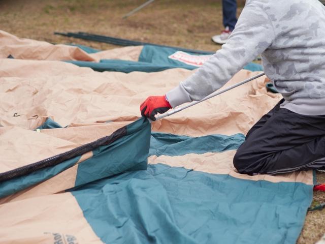 初心者におすすめロゴスのテント!建て方も片付け方も簡単!