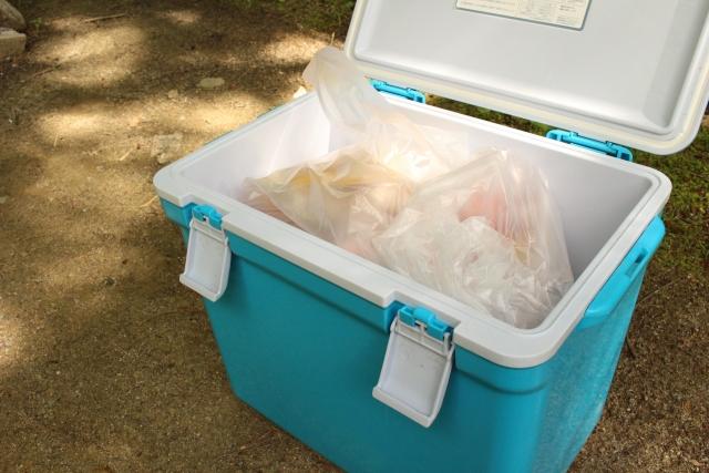 クーラーボックスの効果的な使い方!水は保冷アップのカギ?