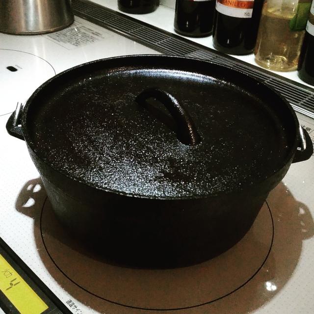 和鉄ダッチオーブンのスノーピーク!シーズニングは不要?