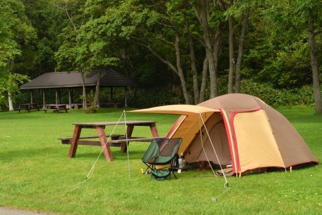 小川製品でキャンプ!ラナや小川張りでテントを連結設営!