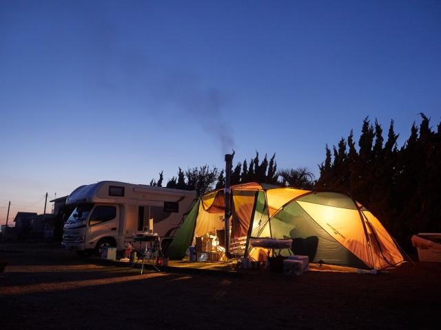 キャンピングカーアミティでキャンプへ!ブログおすすめ点!