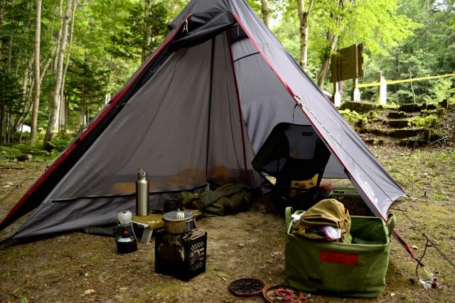 キャンプシーンに合わせた必要な持ち物の一覧をご紹介!