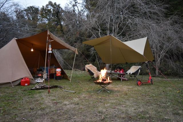 タトンカの1TCでファミリーキャンプ!適したポールはどれ?