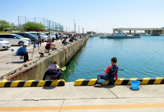 大洗港は人気の釣りエリア!釣り禁止場所に注意して楽しもう