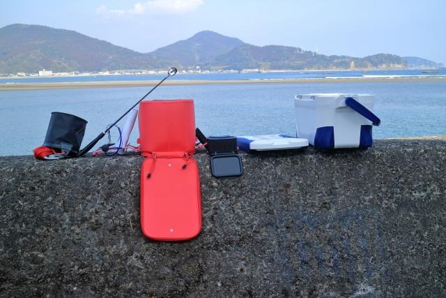 海釣りの竿とリールが決まったら道具を入れる収納箱を選ぼう