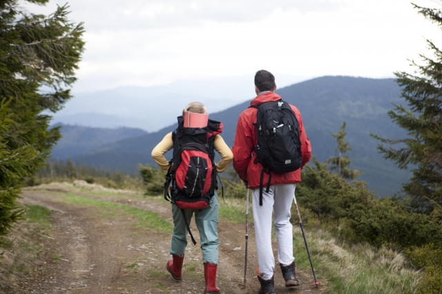 ハイキングに最適なリュックのサイズや形状はこれ!