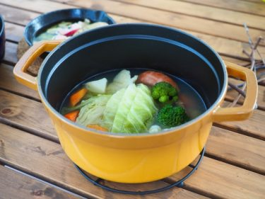 キャンプ料理の名脇役!一皿のスープでお腹も心もあったか