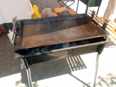 バーベキュー用の鉄板を快適に使用するためのお手入れ方法!